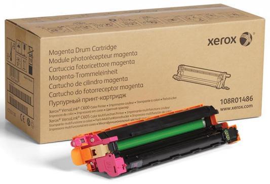 Фото - Драм-картридж XEROX VersaLink C600/C605 пурпурный (40K) драм картридж xerox 108r00775