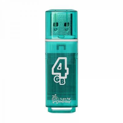 Внешний накопитель 4Gb USB Drive <USB2.0> Smartbuy Glossy series Green (SB4GBGS-G) внешний накопитель 4gb usb drive