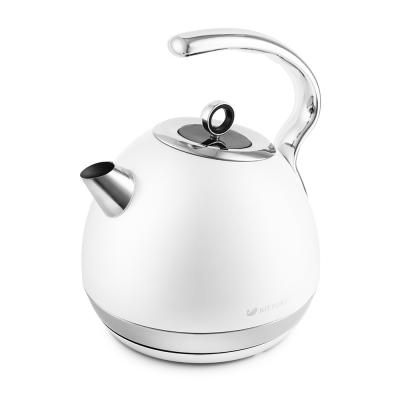 Картинка для Чайник электрический KITFORT КТ-665-3 2150 Вт белый 1.8 л нержавеющая сталь