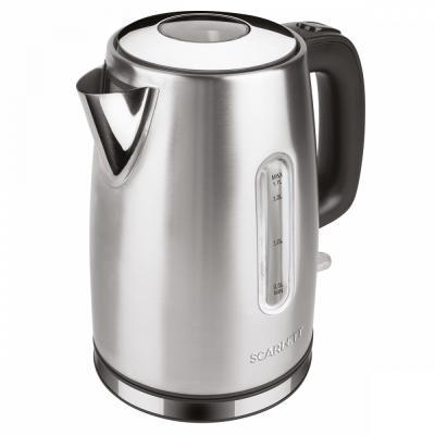 Чайник электрический Scarlett SC-EK21S68 1.7л. 2200Вт серебристый (корпус: нержавеющая сталь) цена и фото