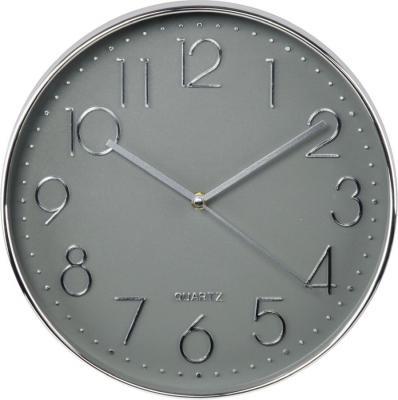 Фото - Часы настенные аналоговые Hama Elegance серебристый часы настенные hama h 123171