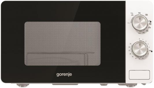 Микроволновая Печь Gorenje MO20E2W 20л. 800Вт белый цена и фото