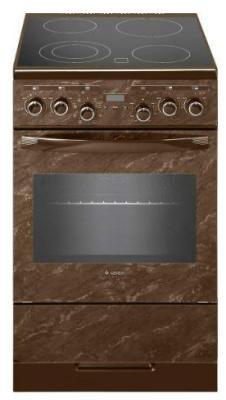 Плита Электрическая Gefest ЭП Н Д 5560-03 0054 коричневый/мрамор стеклокерамика (без крышки) цена