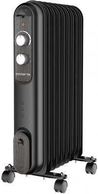 Радиатор масляный Polaris Compact CR V 0920 2000Вт черный масляный радиатор polaris pre a 0920 2000 вт чёрный