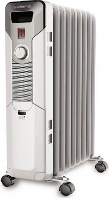 Радиатор масляный Polaris PRE W 0920 2000Вт белый масляный радиатор polaris pre a 0920 2000 вт чёрный