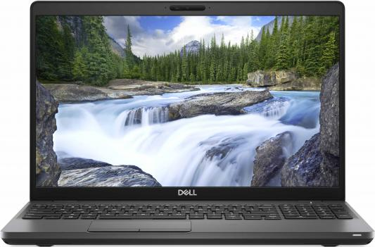Ноутбук DELL Latitude 5501 15.6 1920x1080 Intel Core i5-9300H 256 Gb 8Gb Wi-Fi Intel UHD Graphics 630 черный Windows 10 Professional 5501-3992