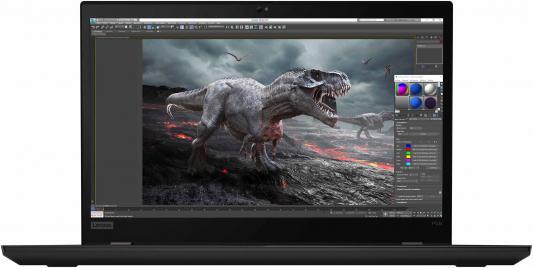Ноутбук Lenovo ThinkPad P53s Core i7 8565U/8Gb/SSD256Gb/nVidia Quadro P520 2Gb/15.6/IPS/FHD/Windows 10 Professional 64/black/WiFi/BT/Cam