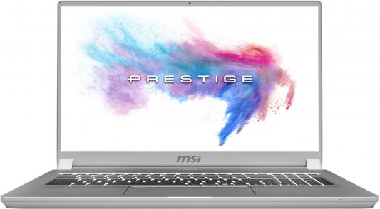 Ноутбук MSI P75 Creator 9SF-1019RU Core i9 9880H/32Gb/SSD512Gb/nVidia GeForce RTX 2070 MAX Q 8Gb/17.3/IPS/FHD (1920x1080)/Windows 10/grey/WiFi/BT/Cam