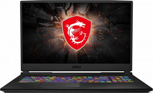 Ноутбук MSI GL75 9SCK-010RU Core i7 9750H/8Gb/SSD512Gb/nVidia GeForce GTX 1650 4Gb/17.3/IPS/FHD (1920x1080)/Windows 10/black/WiFi/BT/Cam