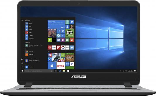 "Ноутбук Asus VivoBook X407UA-BV207R Core i3 7100U/4Gb/SSD256Gb/Intel HD Graphics 620/14""/HD (1366x768)/Windows 10 Professional/grey/WiFi/BT/Cam ноутбук hp probook 440 g4 14 1366x768 intel core i3 7100u 500gb 4gb intel hd graphics 620 черный windows 10 professional y7z64ea"