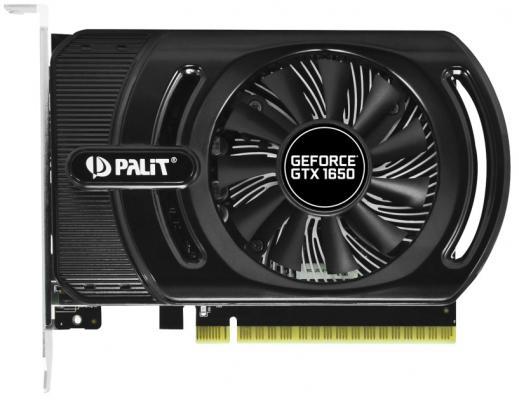 Картинка для Видеокарта Palit GeForce GTX 1650 StormX OC+ PCI-E 4096Mb GDDR5 128 Bit Retail (NE51650S1BG1-1170F)