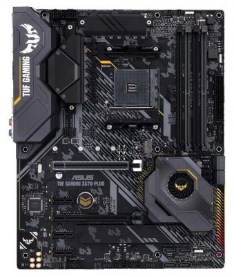 Материнская плата ASUS TUF GAMING X570-PLUS Socket AM4 AMD X570 4xDDR4 2xPCI-E 16x 3xPCI-E 1x 8 ATX Retail
