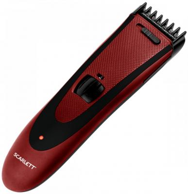 Машинка для стрижки Scarlett SC-HC63C69 красный scarlett sc ek21s02 16