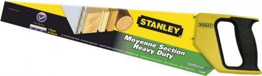 Stanley ножовка по дереву универсальная с закаленным зубом 7 х 500мм (1-20-008) ножовка по дереву stht20349 1 stanley