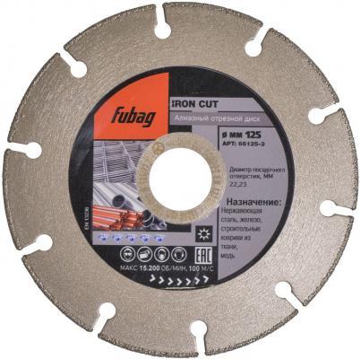 Алмазный отрезной диск IRON CUT_диаметр 125 мм