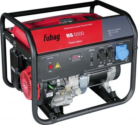 Электростанция бензиновая BS 5500 838795 FUBAG
