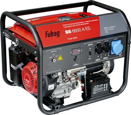 цена на Электростанция бензиновая с электростартером и коннектором автоматики BS 6600 A ES FUBAG