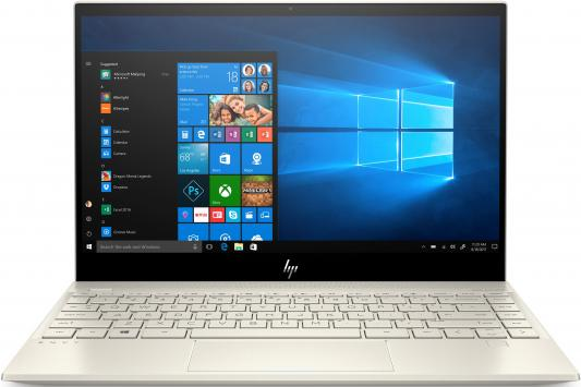 "Ноутбук 13.3"" FHD HP Envy 13-aq0001ur gold (Core i5 8265U/8Gb/256Gb SSD/VGA int/W10) (6PS54EA) цена и фото"