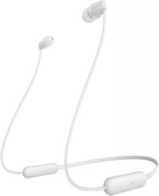 Картинка для Sony WI-C200W Наушники белый
