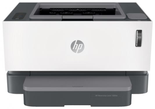 Фото - Принтер лазерный HP Neverstop Laser 1000w (4RY23A) принтер лазерный hp neverstop laser 1000w a4 wifi 4ry23a
