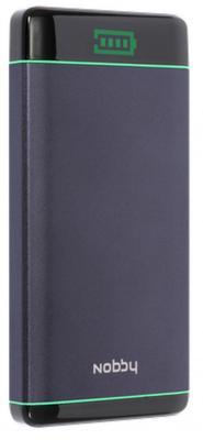 Картинка для Внешний аккумулятор Power Bank 8000 мАч Nobby Comfort NBC-PB-08-06 графит