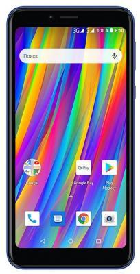 Смартфон Texet TM-5083 Pay 5 3G 8 Гб синий смартфон