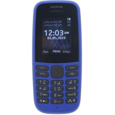 Мобильный телефон NOKIA 105 DS Blue синий