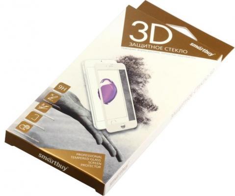 Защитное стекло Smartbuy для iPhone 6/6s Plus 10D(3D) белое [SBTG-3D0004]