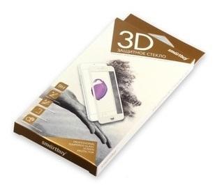 Защитное стекло Smartbuy для iPhone X для задней панели 10D(3D) черное [SBTG-3D0032] защитное стекло для iphone interstep для iphone 7 3d черное is tg ipho73dbl 000b201
