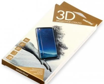 Защитное стекло Smartbuy для Samsung Galaxy A8+ 10D(3D) черное [SBTG-3D0015] защитное стекло smartbuy sbtg 3d0013 для samsung galaxy s8 3d 0 33 мм полное покрытие экрана с рамкой черный