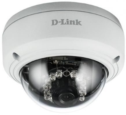 Камера IP D-Link DCS-4603/UPA/A2A 3 Мп купольная сетевая камера, день/ночь, c ИК-подсветкой до 10 м, PoE и WDR цена