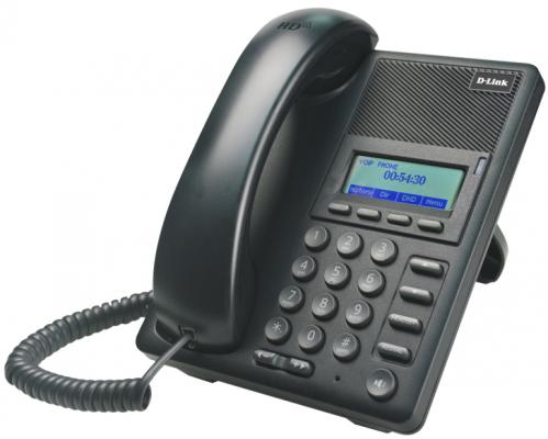 IP - телефон D-Link DPH-120S/F1B IP-телефон с 1 WAN-портом 10/100Base-TX, 1 LAN-портом 10/100Base-TX
