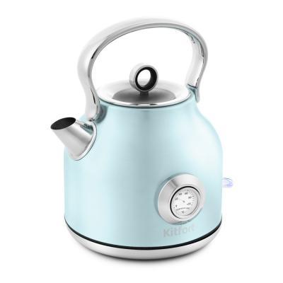 Фото - Чайник электрический KITFORT КТ-673-3 2200 Вт голубой 1.7 л нержавеющая сталь чайник электрический kitfort кт 670 4 2200 вт голубой 1 7 л металл пластик
