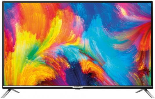 Фото - Телевизор Hyundai H-LED32ET3001 черный серебристый телевизор hyundai 40 h led40et3000 metal черный