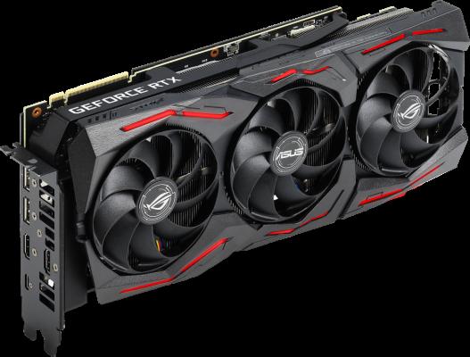 Видеокарта Asus PCI-E ROG-STRIX-RTX2080S-A8G-GAMING nVidia GeForce RTX 2080SUPER 8192Mb 256bit GDDR6 1650/15500/HDMIx2/DPx2/Type-Cx1/HDCP Ret цена 2017