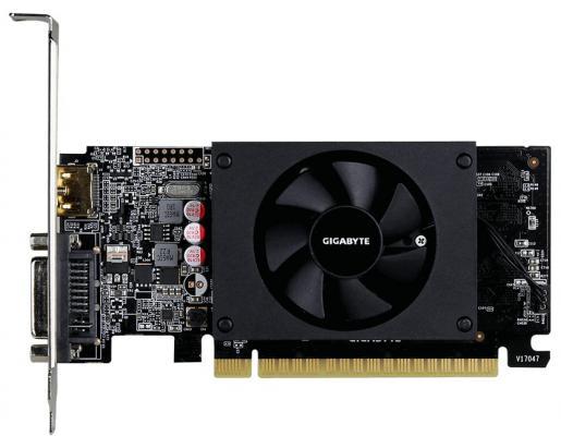 Фото - Видеокарта GigaByte GeForce GT 710 GV-N710D5-1GL PCI-E 1024Mb GDDR5 64 Bit Retail видеокарта gigabyte geforce gt 710 2gb gv n710d5 2gil retail