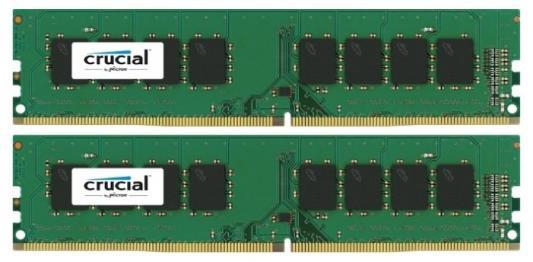 Память DDR4 2x16Gb 2400MHz Crucial CT2K16G4DFD824A RTL PC4-19200 CL17 DIMM 288-pin 1.2В kit dual rank память ddr4 2x16gb 2400mhz patriot pve432g240c5krd rtl pc4 19200 cl15 dimm 288 pin 1 2в