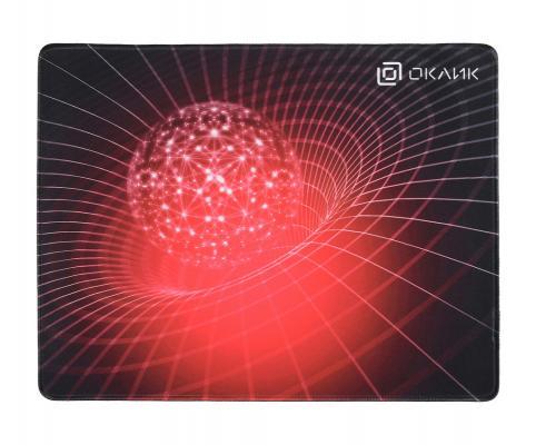 лучшая цена Коврик для мыши Oklick OK-FP0400 красный