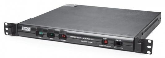 Источник бесперебойного питания Powercom King Pro RM KIN-600AP RM 600VA Черный