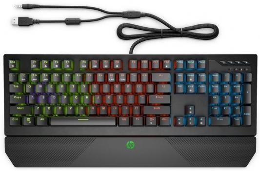 Фото - Клавиатура HP Pavilion Gaming 800 механическая черный USB (подставка для запястий) подставка