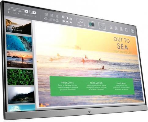 Монитор HP 23 EliteDisplay E233 серебристый IPS 5ms 16:9 HDMI матовая 250cd 178гр/178гр 1920x1080 D-Sub DisplayPort FHD USB монитор hp 24fw 23 8 серебристый черный [4tb29aa]
