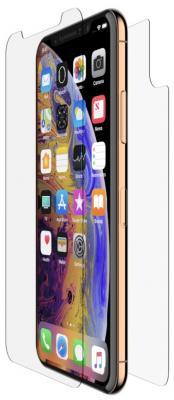 Фото - Защитное стекло для экрана и задней крышки Belkin InvisiGlass Ultra для Apple iPhone XS Max прозрачная (F8W931DSAPL) защитное стекло belkin invisiglass ultra для apple iphone x xs