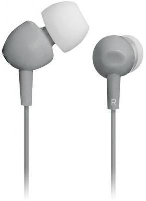 Наушники вкладыши BBK EP-1103S 1.2м серый проводные (в ушной раковине) цена и фото