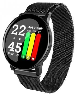 Смарт-часы Smarterra SmartLife UNO 1.3 TFT черный (SM-SLUNOB) smarterra smartlife kids light blue sm slkb