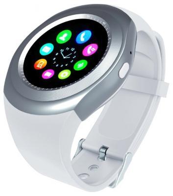 Смарт-часы Smarterra SmartLife R 1.54 IPS белый (SM-SLRNDWT) smarterra smartlife kids light blue sm slkb
