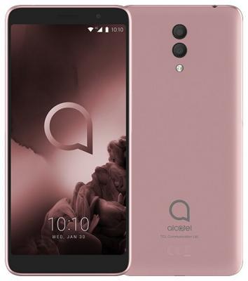 Смартфон Alcatel 5008Y 1X 16Gb 2Gb розовое золото моноблок 3G 4G 2Sim 5.5 720x1440 Android 8.1 13Mpix 802.11bgn NFC GPS GSM900/1800 GSM1900 MP3 FM A-GPS microSD max128Gb смартфон digma rage 4g linx 16gb 2gb черный моноблок 3g 4g 2sim 5 7 720x1440 android 8 1 8mpix 802 11bgn bt gps gsm900 1800 gsm1900 touchsc mp3 fm microsd max64gb