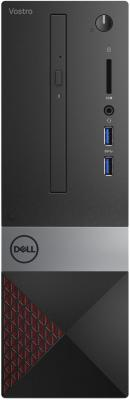 ПК Dell Vostro 3470 SFF i3 9100 (3.6)/4Gb/1Tb 7.2k/UHDG 630/DVDRW/CR/Windows 10 Professional 64/GbitEth/WiFi/BT/клавиатура/мышь/черный