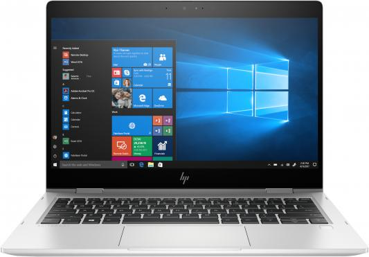 "HP EliteBook x360 830 G6 13.3""(1920x1080)/Touch/Intel Core i5 8265U(1.6Ghz)/8192Mb/256SSDGb/noDVD/Int:Intel HD Graphics 620/53WHr/war 3y/1.35kg/silver/W10Pro"