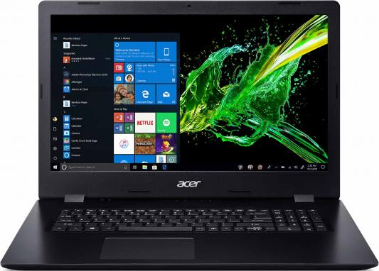 "Ноутбук Acer Aspire A317-51G-54U3 Core i5 8265U/8Gb/SSD256Gb/nVidia GeForce MX230 2Gb/17.3""/FHD (1920x1080)/Windows 10/black/WiFi/BT/Cam"