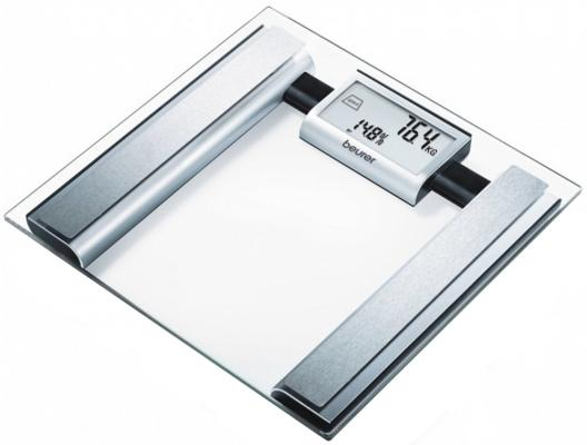 Картинка для Весы напольные Beurer BG39 прозрачный серебристый